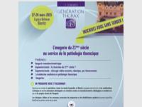 7ème congrès Génération Thorax : inscrivez-vous sans tarder !