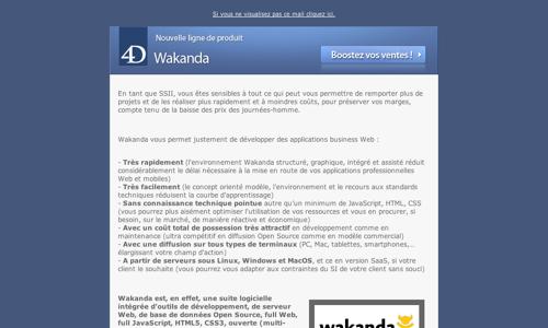 Communication Wakanda - 6 novembre 2012