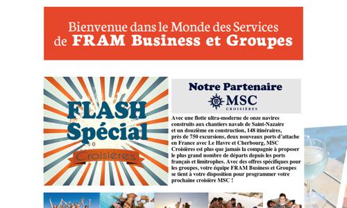 Flash Spécial, vos groupes en croisières !