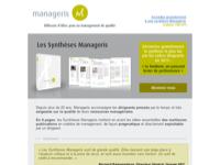 Découvrez la Synthèse Manageris la plus lue par les cadres dirigeants en 2012 : Le bonheur, un puissant levier de performance