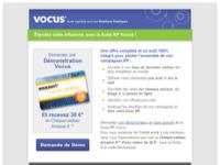 Recevez un Chèque-cadeau et découvrez les Relations Médias par Vocus