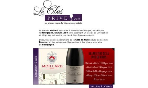 Moillard, Maison historique et de référence pour les vins de la Côte de Nuits