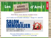 Ami Bois vous donne rendez-vous au Salon de l'Immobilier à Bordeaux