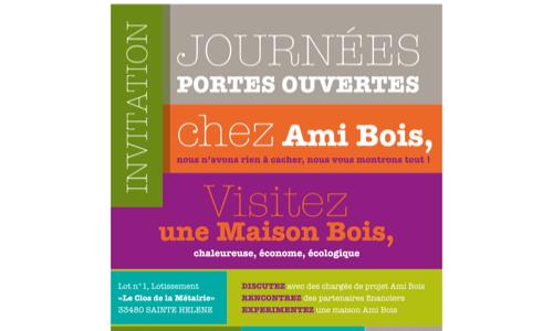 Journées Portes Ouvertes Ami Bois à Sainte Hélène !