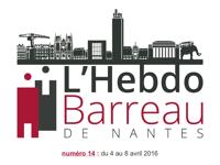 Hebdo Barreau n° 14